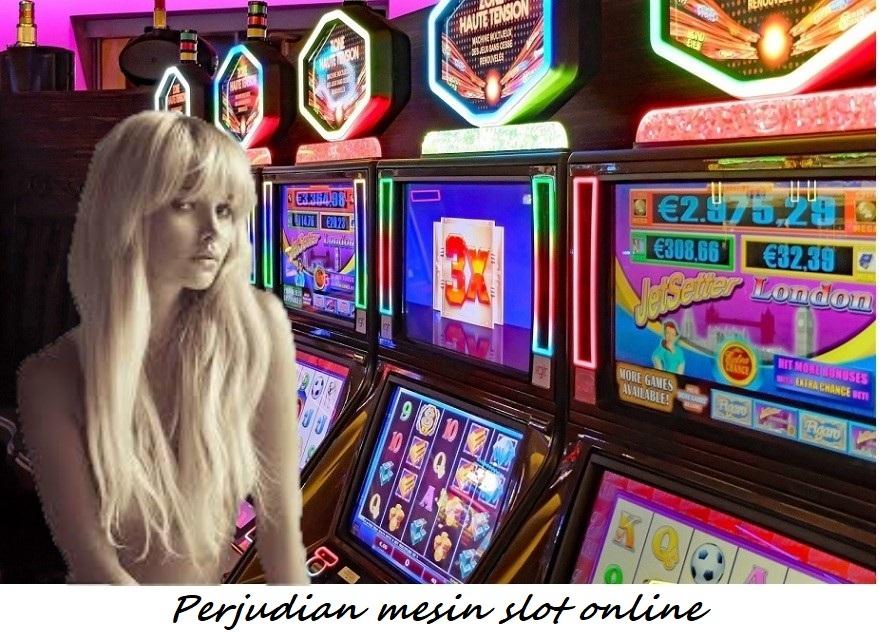 Perjudian mesin slot online